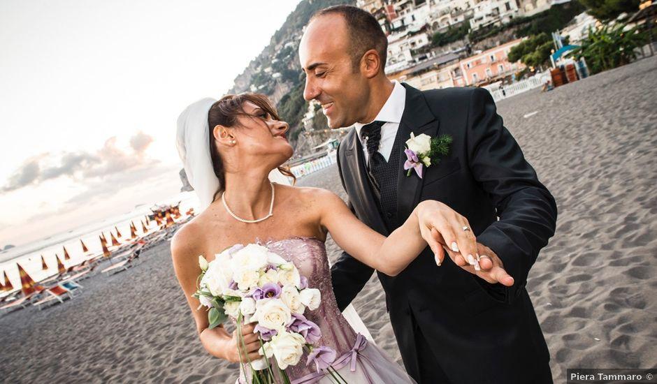 Il matrimonio di Fiorenzo e Emanuela a Positano, Salerno