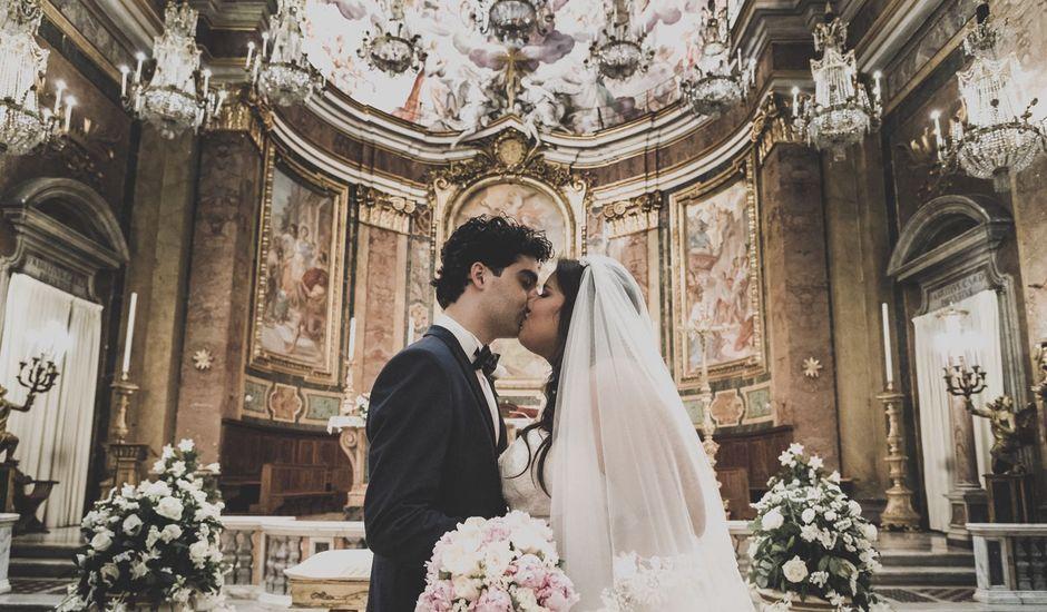 Il matrimonio di Simone e Sarah a Roma, Roma