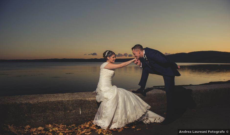 Il matrimonio di Manuel e Sara a Trevignano Romano, Roma