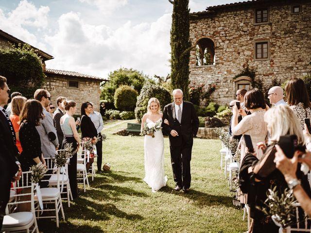 Il matrimonio di Henrik e Kristen a Poppi, Arezzo 8