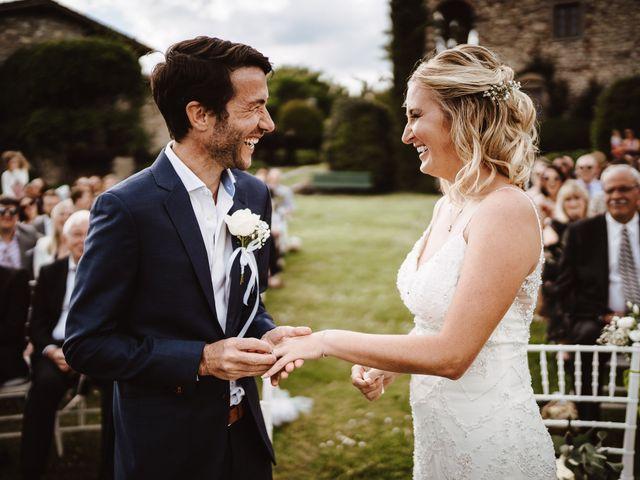 Il matrimonio di Henrik e Kristen a Poppi, Arezzo 1