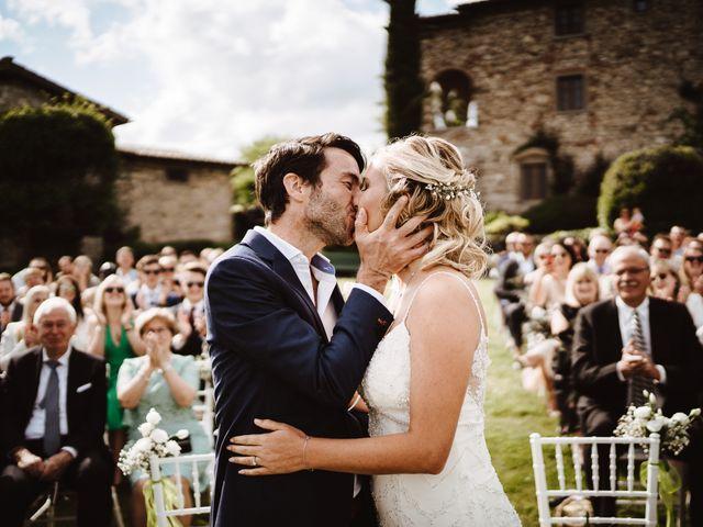Il matrimonio di Henrik e Kristen a Poppi, Arezzo 15