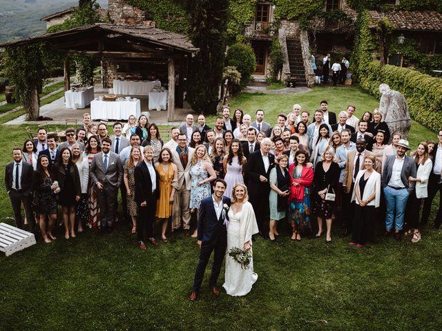 Il matrimonio di Henrik e Kristen a Poppi, Arezzo 28