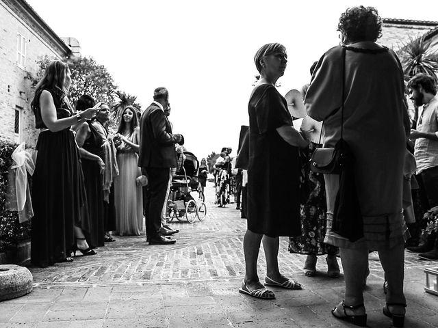 Il matrimonio di Marco e Ombretta a Macerata, Macerata 43