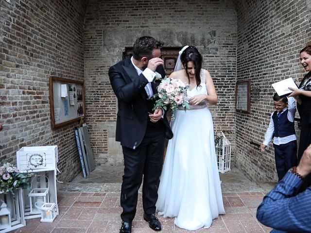 Il matrimonio di Marco e Ombretta a Macerata, Macerata 45
