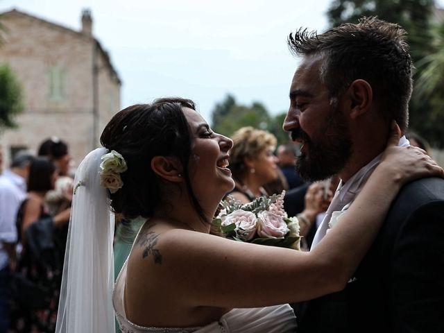 Il matrimonio di Marco e Ombretta a Macerata, Macerata 46