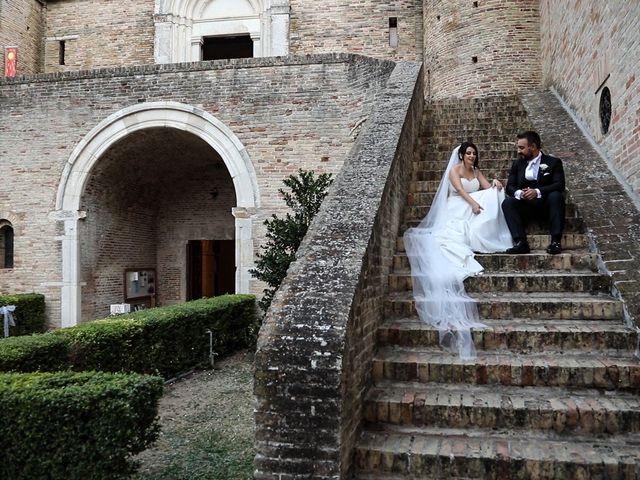 Il matrimonio di Marco e Ombretta a Macerata, Macerata 51
