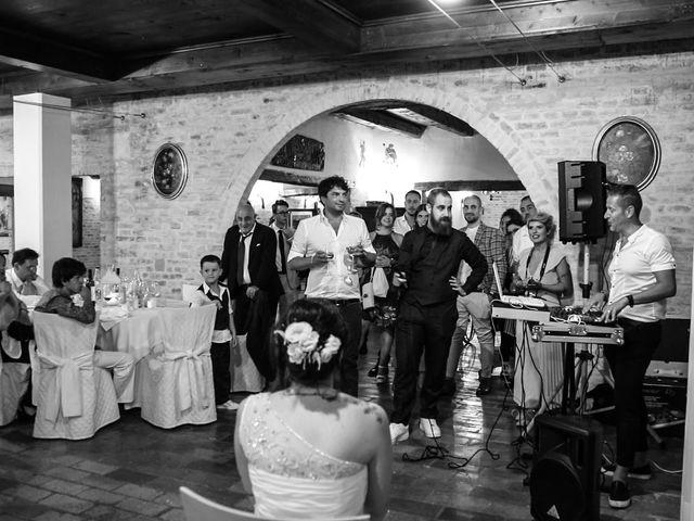Il matrimonio di Marco e Ombretta a Macerata, Macerata 76