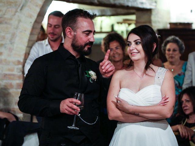Il matrimonio di Marco e Ombretta a Macerata, Macerata 81