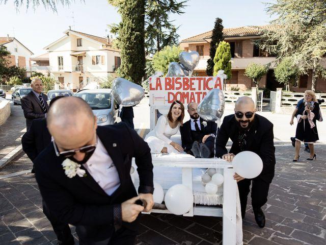 Il matrimonio di Bruno e Sophia a Montelupone, Macerata 28