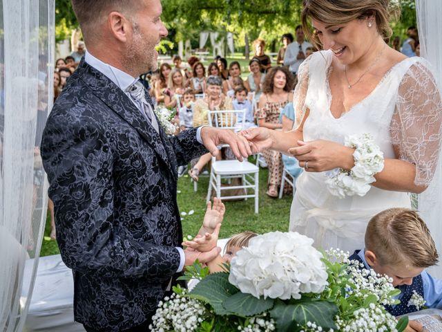 Il matrimonio di Federico e Chiara a Torre di Mosto, Venezia 42
