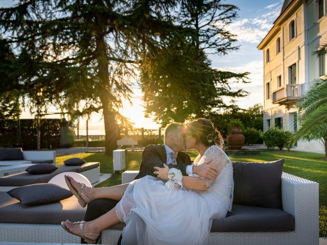 Il matrimonio di Federico e Chiara a Torre di Mosto, Venezia 1