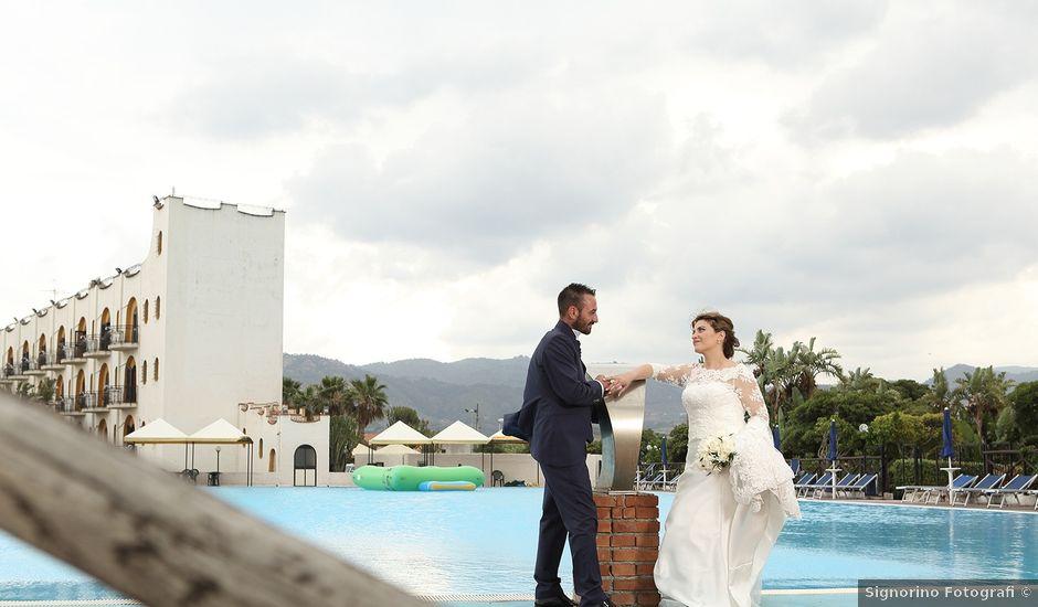 Il matrimonio di Edward e Valentina a Patti, Messina