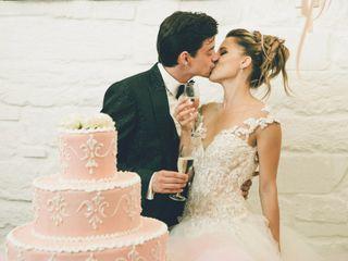Le nozze di Simona e Artem