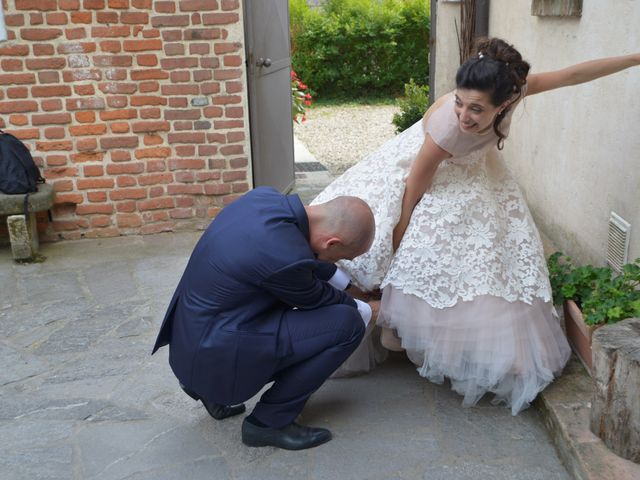 Il matrimonio di Valeriano e Antonella a Solaro, Milano 43