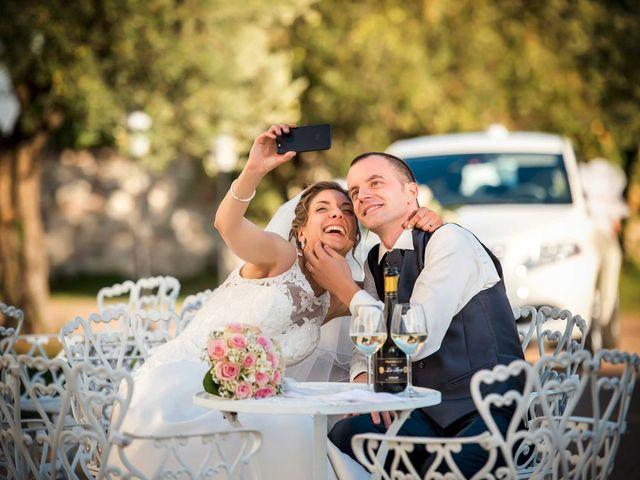 le nozze di Erica e Giorgio