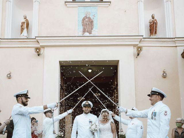 Il matrimonio di Giuseppe e Iuliana a Eboli, Salerno 21