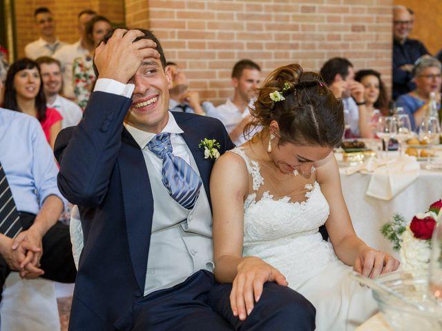 Il matrimonio di Davide e Daniela a Correggio, Reggio Emilia 56