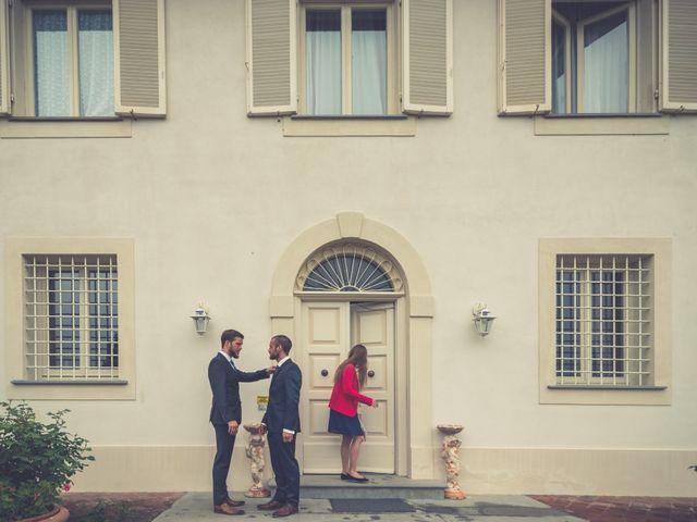 Il matrimonio di Dominik e Robin a Certaldo, Firenze 30