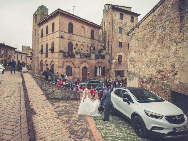 Il matrimonio di Dominik e Robin a Certaldo, Firenze 31