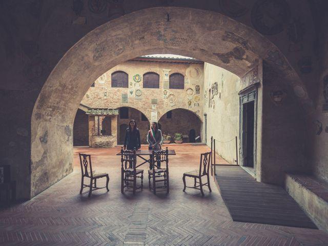 Il matrimonio di Dominik e Robin a Certaldo, Firenze 33