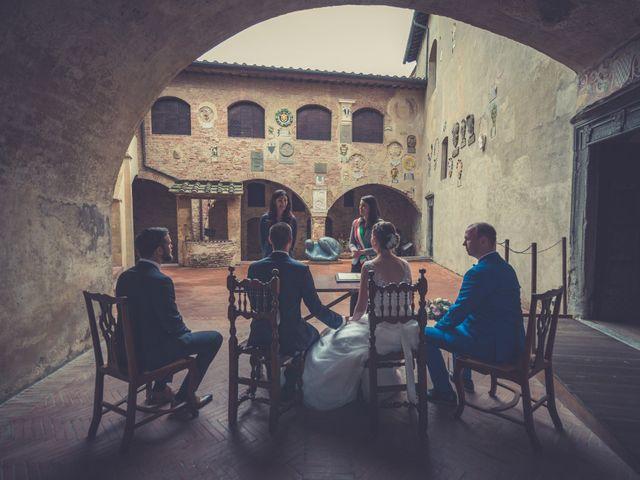 Il matrimonio di Dominik e Robin a Certaldo, Firenze 36