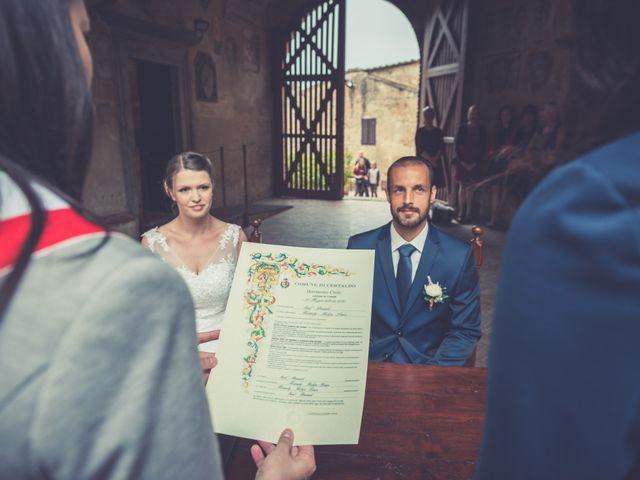 Il matrimonio di Dominik e Robin a Certaldo, Firenze 38