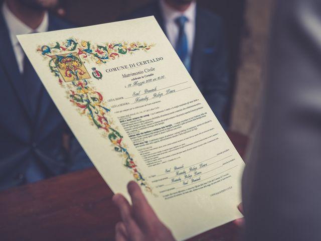 Il matrimonio di Dominik e Robin a Certaldo, Firenze 40