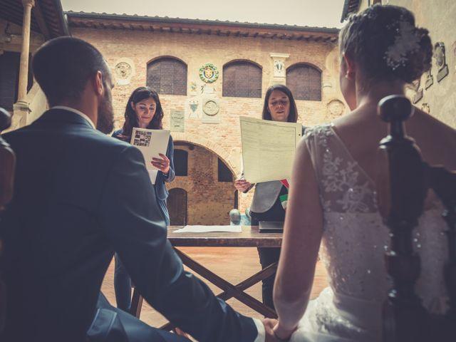 Il matrimonio di Dominik e Robin a Certaldo, Firenze 43
