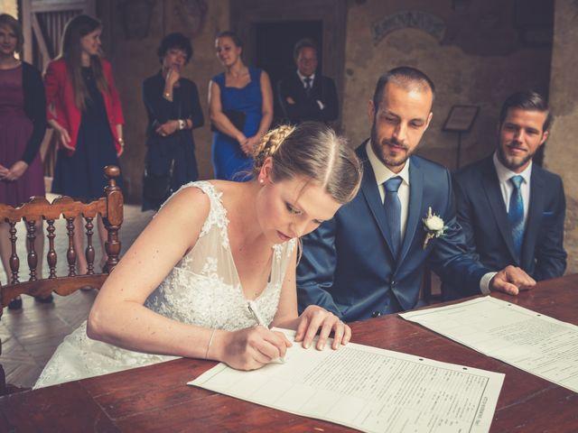 Il matrimonio di Dominik e Robin a Certaldo, Firenze 44