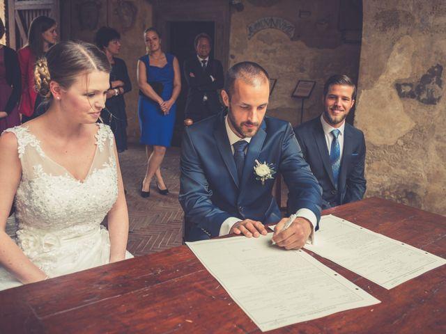 Il matrimonio di Dominik e Robin a Certaldo, Firenze 45