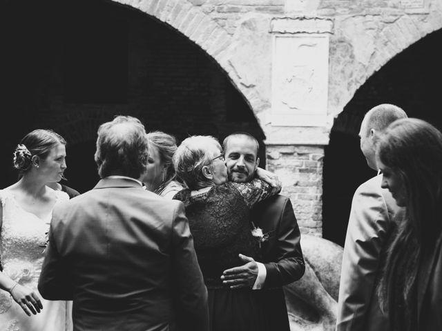 Il matrimonio di Dominik e Robin a Certaldo, Firenze 46