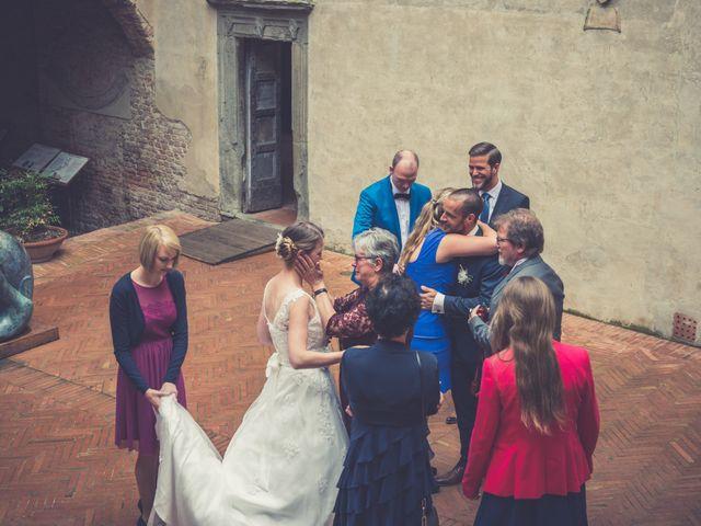 Il matrimonio di Dominik e Robin a Certaldo, Firenze 47