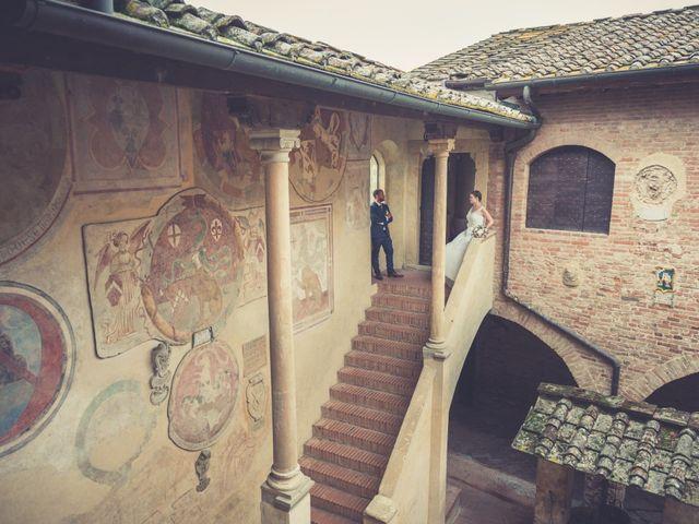 Il matrimonio di Dominik e Robin a Certaldo, Firenze 57