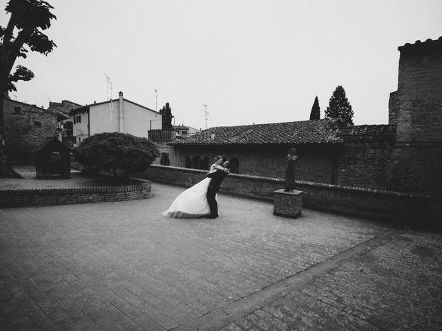 Il matrimonio di Dominik e Robin a Certaldo, Firenze 61
