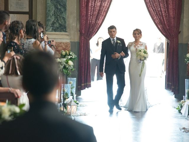 Il matrimonio di Francesco e Alessia a Vignale Monferrato, Alessandria 17