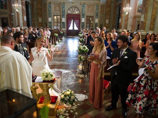 Il matrimonio di Francesco e Alessia a Vignale Monferrato, Alessandria 19