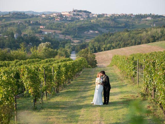 Il matrimonio di Francesco e Alessia a Vignale Monferrato, Alessandria 22