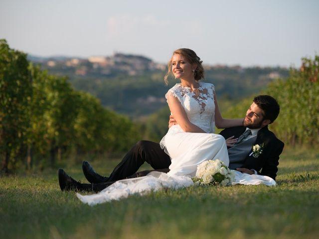 Il matrimonio di Francesco e Alessia a Vignale Monferrato, Alessandria 24