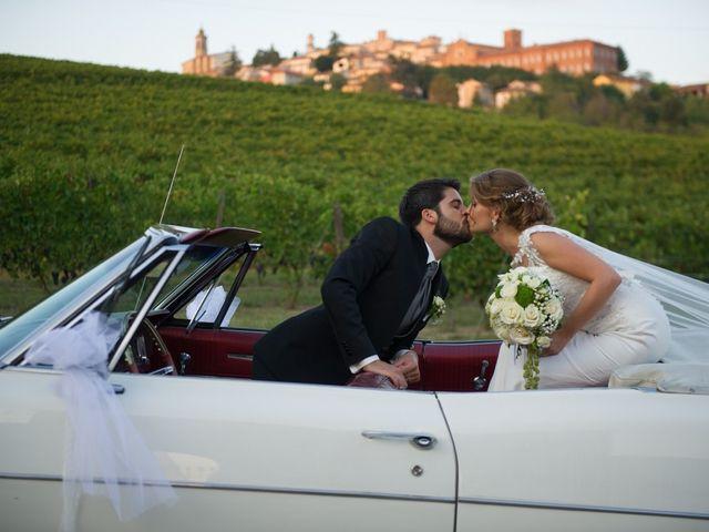 Il matrimonio di Francesco e Alessia a Vignale Monferrato, Alessandria 34