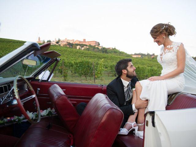 Il matrimonio di Francesco e Alessia a Vignale Monferrato, Alessandria 35