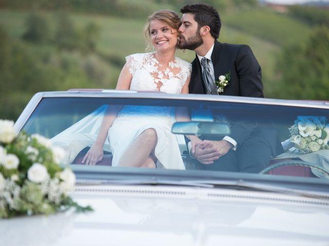 Il matrimonio di Francesco e Alessia a Vignale Monferrato, Alessandria 36