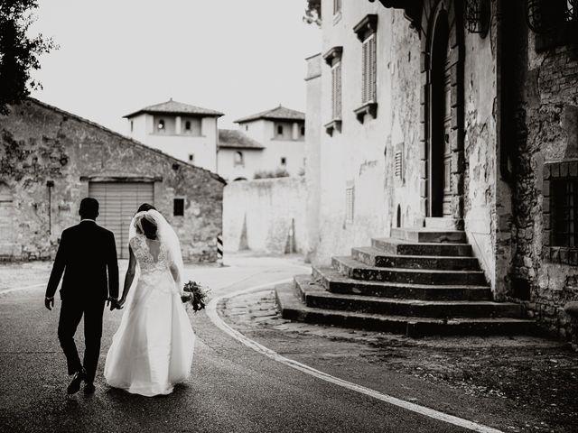 Il matrimonio di Gabriele e Ilaria a Barberino Val d'Elsa, Firenze 34