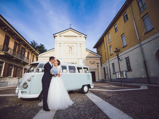 Il matrimonio di Paolo e Alessia a Arese, Milano 37