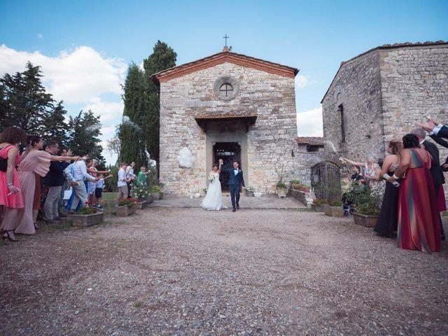 Il matrimonio di Lorenzo e Beatrice a San Casciano in Val di Pesa, Firenze 39