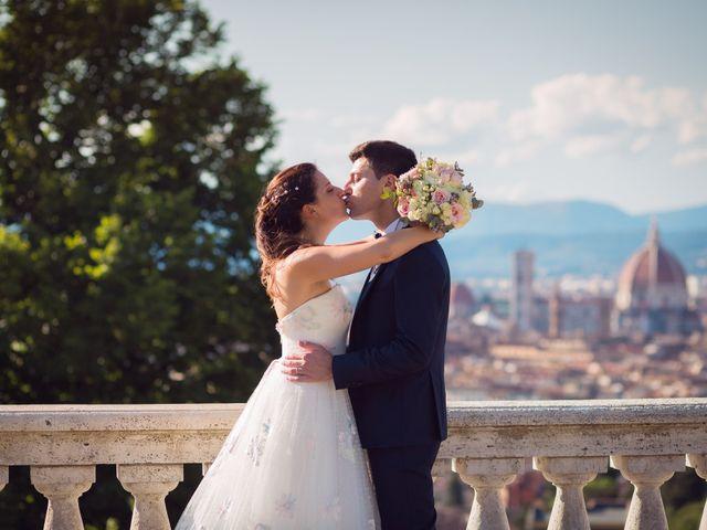 Il matrimonio di Lorenzo e Beatrice a San Casciano in Val di Pesa, Firenze 44