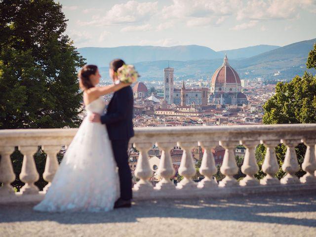 Il matrimonio di Lorenzo e Beatrice a San Casciano in Val di Pesa, Firenze 45