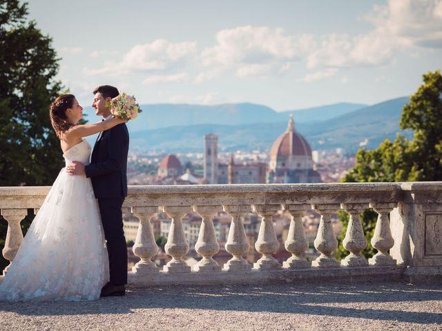 Il matrimonio di Lorenzo e Beatrice a San Casciano in Val di Pesa, Firenze 46