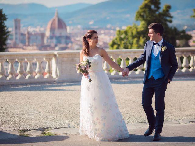 Il matrimonio di Lorenzo e Beatrice a San Casciano in Val di Pesa, Firenze 49