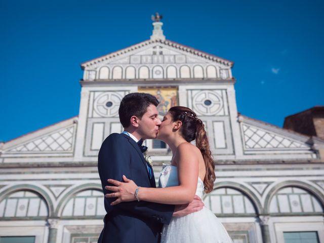Il matrimonio di Lorenzo e Beatrice a San Casciano in Val di Pesa, Firenze 55
